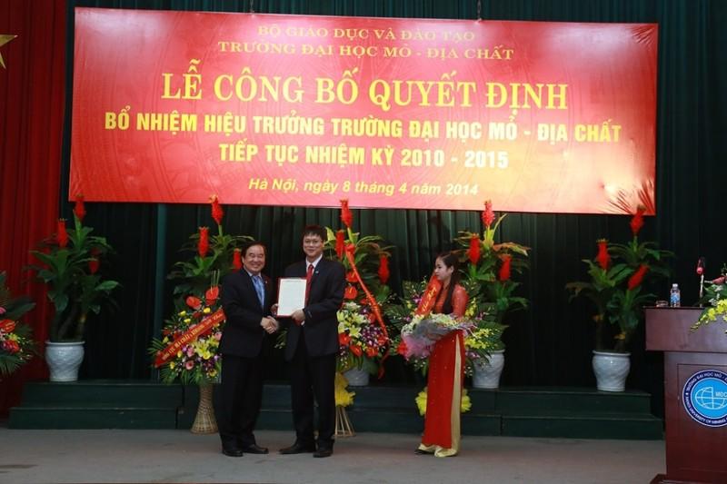 Trường ĐH Mỏ công bố loạt hình ảnh của Thứ trưởng Lê Hải An - ảnh 6