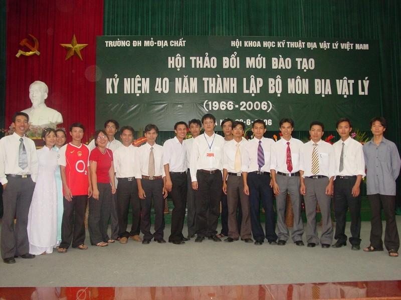 Trường ĐH Mỏ công bố loạt hình ảnh của Thứ trưởng Lê Hải An - ảnh 1