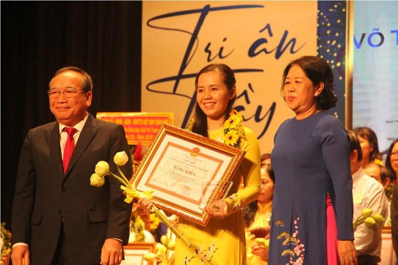 TP.HCM vinh danh 50 nhà giáo đạt giải Võ Trường Toản - ảnh 2