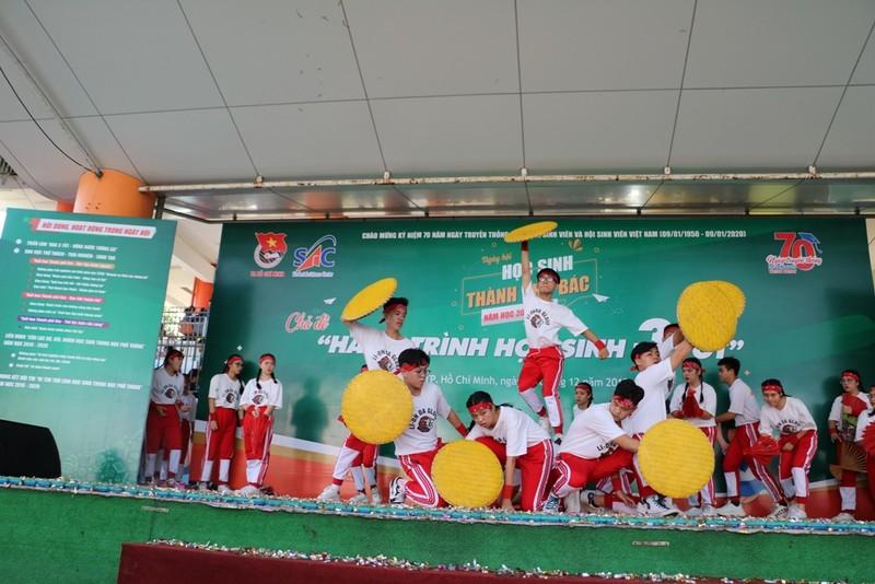 Nhiều bất ngờ tại Ngày hội 'Học sinh thành phố Bác' - ảnh 1