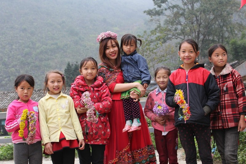 Ngắm nụ cười trong veo của những đứa trẻ vùng cao Hà Giang - ảnh 4
