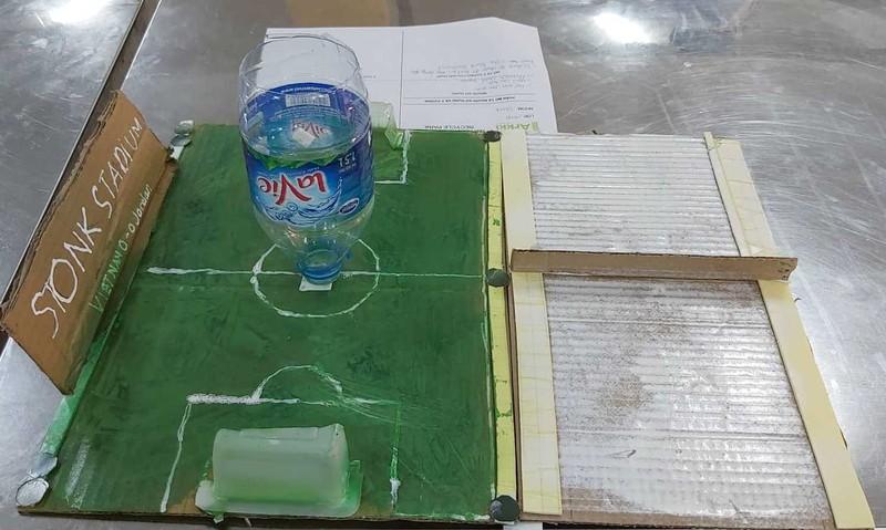 Học sinh tự thiết kế mô hình công viên - ảnh 5
