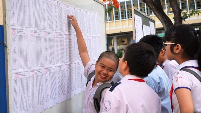 Bắt đầu nộp hồ sơ dự thi vào lớp 6 trường Trần Đại Nghĩa - ảnh 1