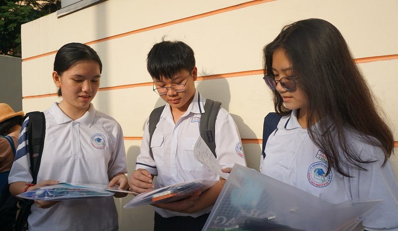 Gần 2.700 học sinh tranh suất vào lớp 10 Phổ thông Năng khiếu - ảnh 3