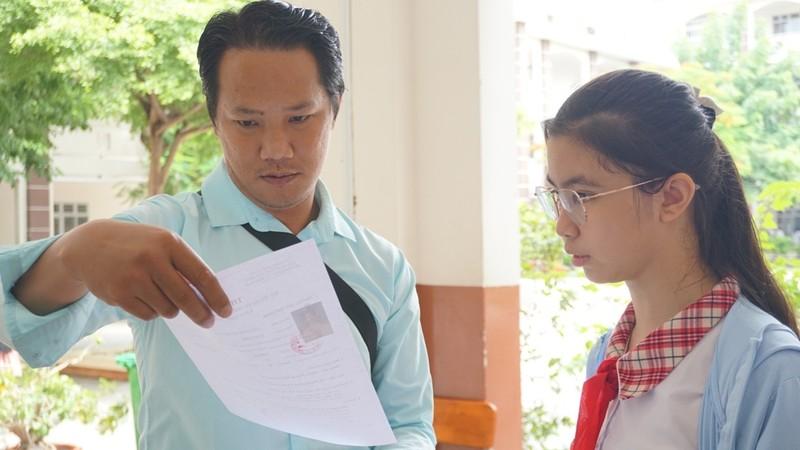 TP.HCM: 82.000 thí sinh làm thủ tục thi vào lớp 10  - ảnh 5
