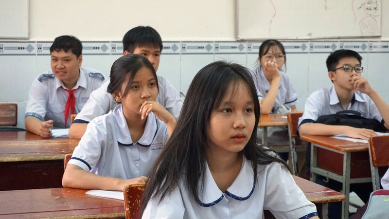 TP.HCM: 82.000 thí sinh làm thủ tục thi vào lớp 10  - ảnh 7