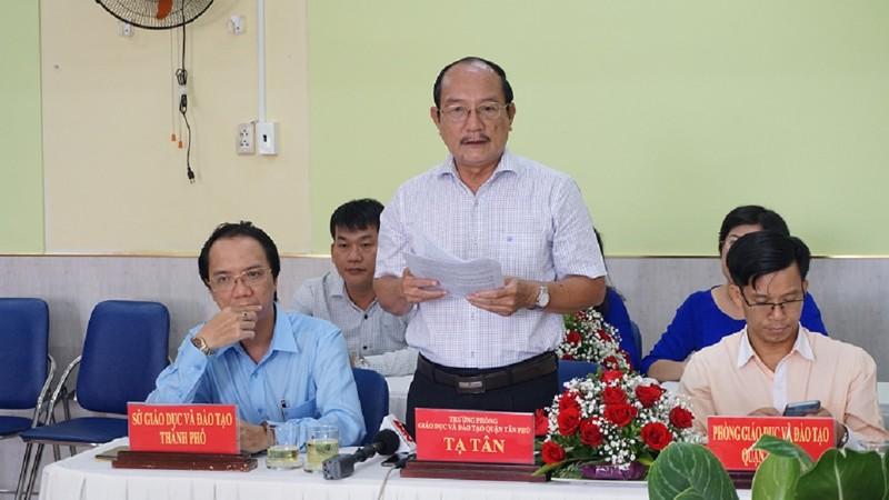 Quận Tân Phú không thể thu hồi 11 khu đất để xây trường học  - ảnh 1