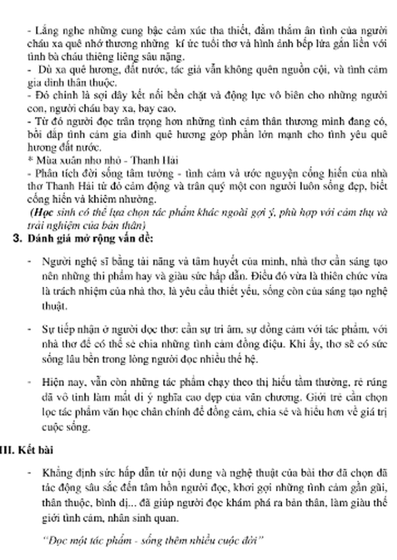 Gợi ý bài làm đề thi môn Văn tuyển sinh vào lớp 10 - ảnh 14