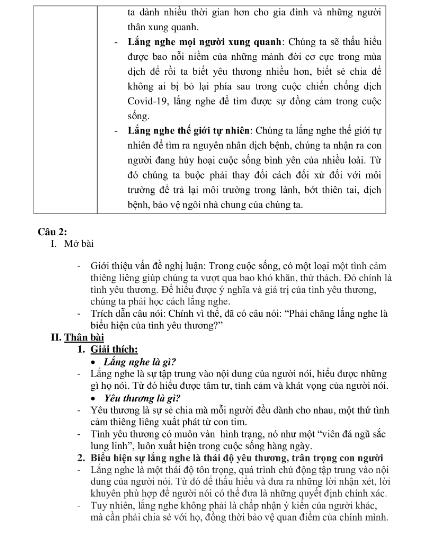 Gợi ý bài làm đề thi môn Văn tuyển sinh vào lớp 10 - ảnh 4