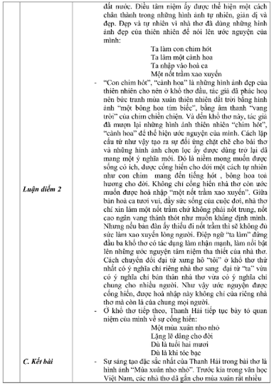 Gợi ý bài làm đề thi môn Văn tuyển sinh vào lớp 10 - ảnh 10