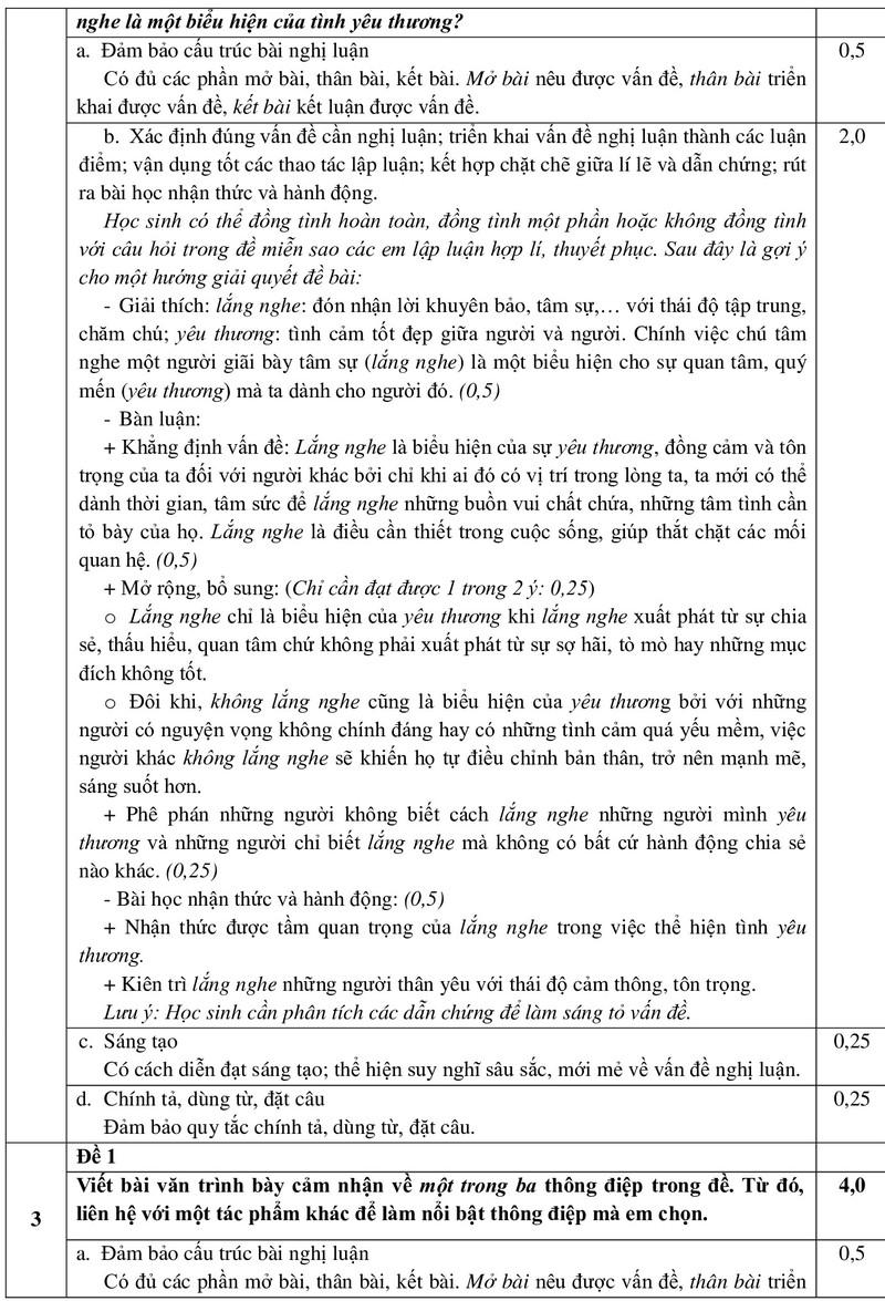 TP.HCM công bố đáp án môn Văn trong kỳ thi tuyển sinh 10 - ảnh 4