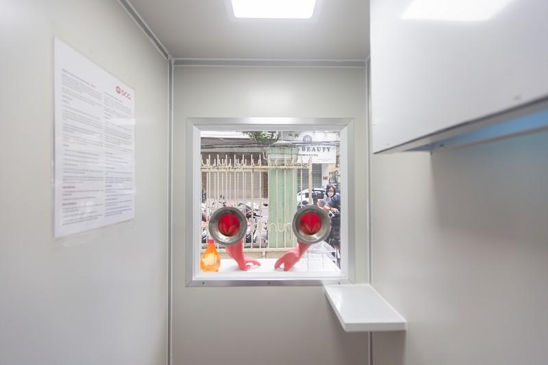 Trao tặng 4 phòng áp lực dương kháng khuẩn di động cho Đà Nẵng - ảnh 3