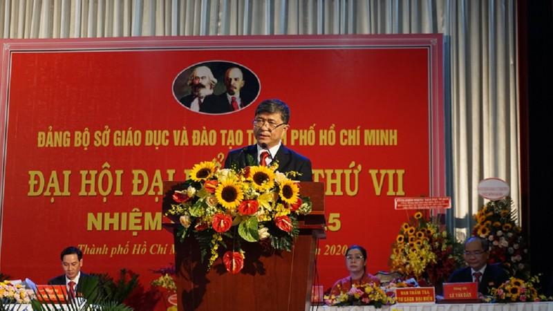 Ông Nguyễn Văn Hiếu đắc cử Bí thư Đảng ủy Sở GD&ĐT TP.HCM - ảnh 3