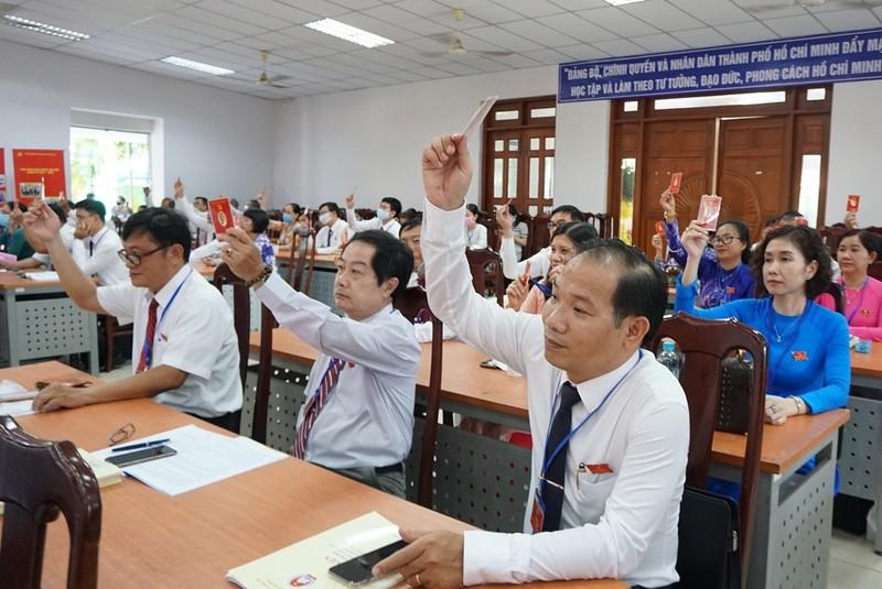 Ông Nguyễn Văn Hiếu đắc cử Bí thư Đảng ủy Sở GD&ĐT TP.HCM - ảnh 2