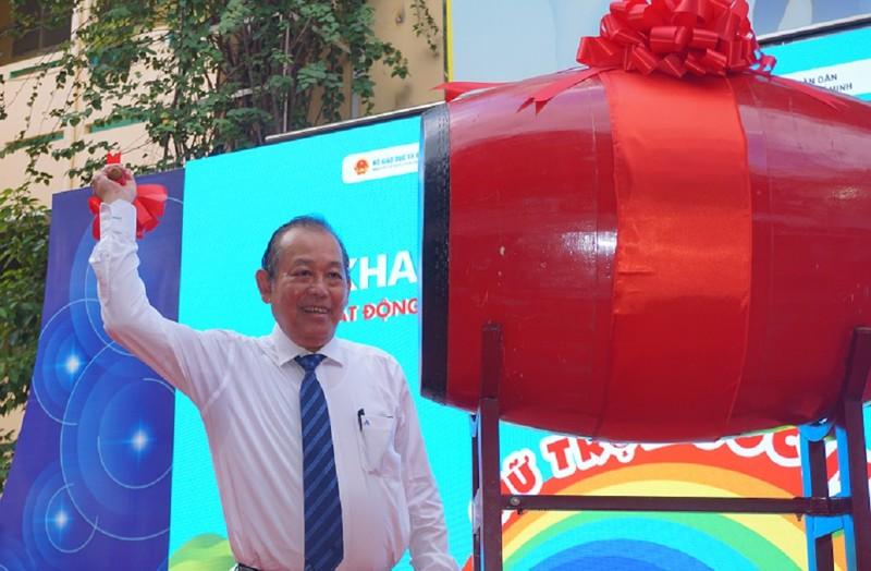 Phó Thủ tướng Trương Hòa Bình dự lễ khai giảng tại TP.HCM - ảnh 2
