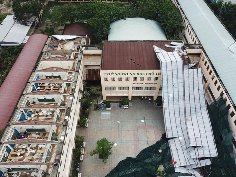 TP.HCM chi 2,9 tỷ khắc phục sự cố tại trường THPT Bình Phú - ảnh 1