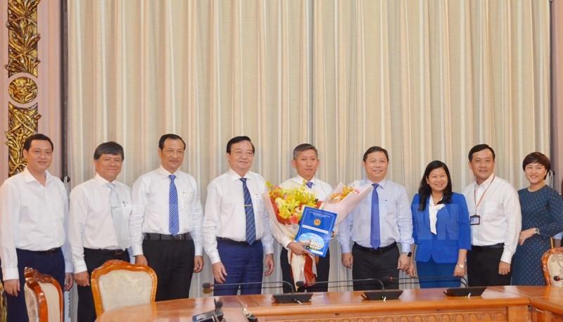 TP.HCM bổ nhiệm thêm 1 Phó Giám đốc Sở GD&ĐT - ảnh 1