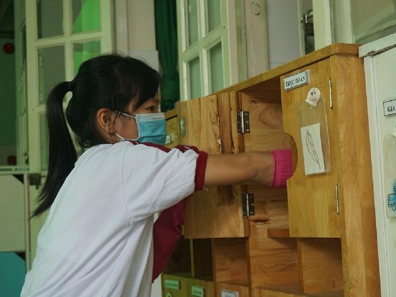 TP.HCM: Các trường đã sẵn sàng đón học sinh đi học trở lại - ảnh 1