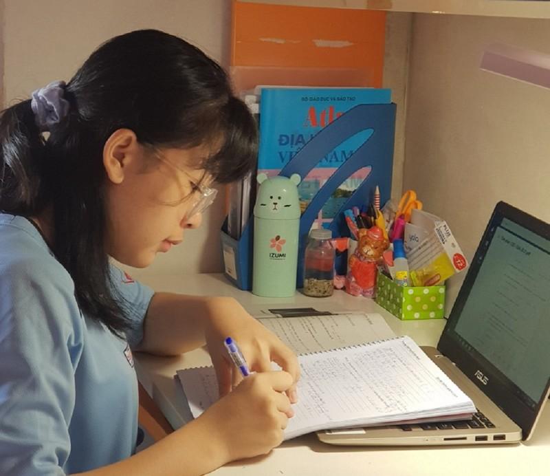 TP.HCM: Không tổ chức học trực tuyến thì không thu học phí - ảnh 1