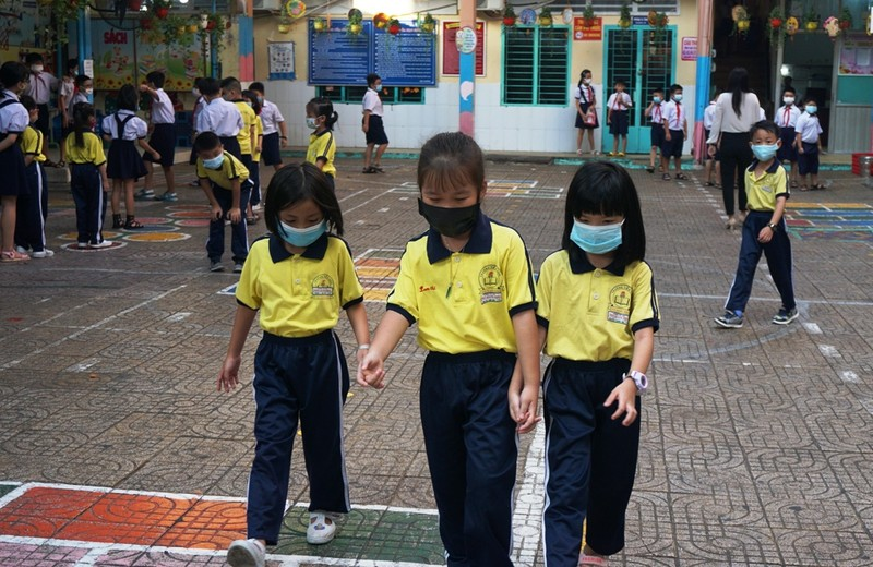 TP.HCM: Trường học tổ chức thi HK2 trong mùa dịch  - ảnh 2