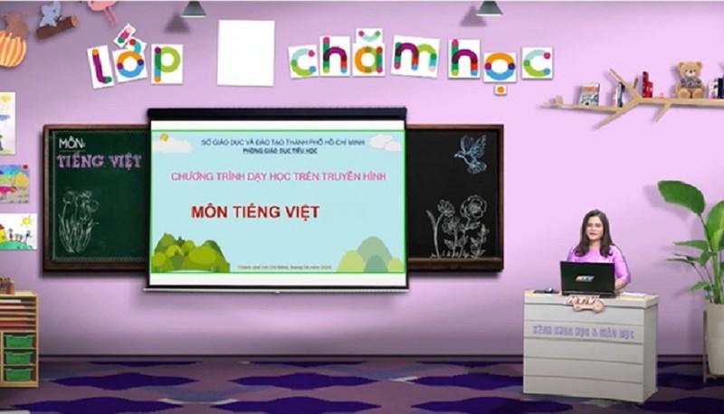 TP.HCM: Học sinh lớp 1, lớp 2 sẽ học trên truyền hình từ 13-9 - ảnh 1