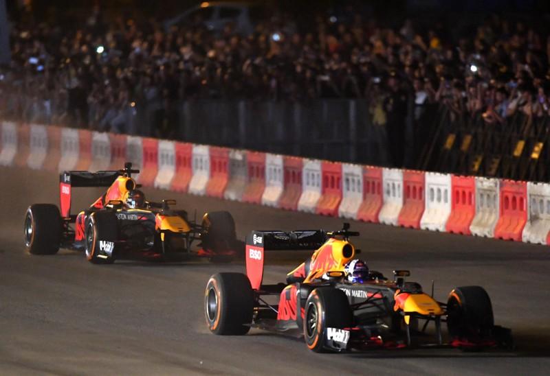 Khởi động Việt Nam Grand Prix thu hút hàng vạn khán giả Thủ Đô - ảnh 1