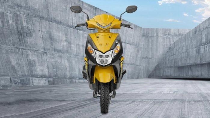 Honda Dio mới có hai phiên bản và giá khởi điểm khoảng 19 triệu đồng.
