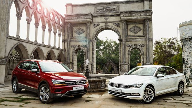 Hai dòng xe chủ lực của Volkswagen Việt Nam được hỗ trợ 100% phí trước bạ.