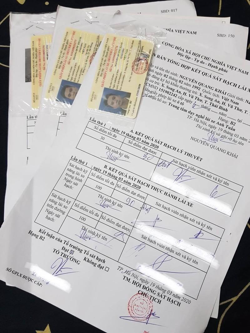 Mất hồ sơ gốc, người lái xe có được cấp, đổi bằng lái - ảnh 1
