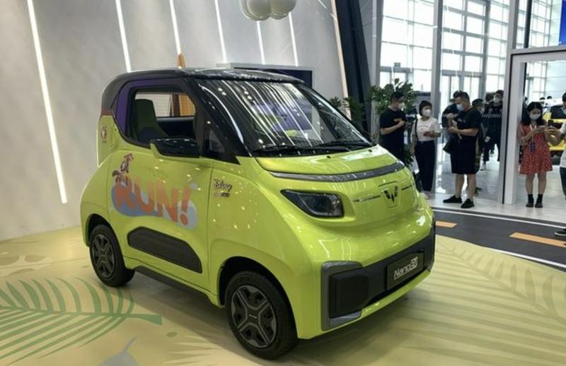 Mẫu xe điện hai chỗ ngồi này chỉ có giá hơn 200 triệu đồng - ảnh 1