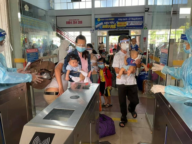 Gần 3.000 người dân Quảng Bình sắp được về quê bằng tàu hỏa - ảnh 2