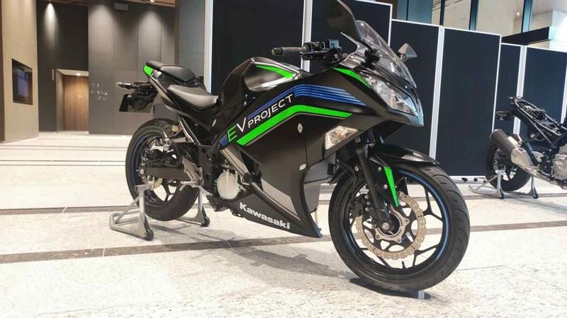 Kawasaki sẽ giới thiệu 10 mẫu xe phân khối lớn chạy bằng điện  - ảnh 1