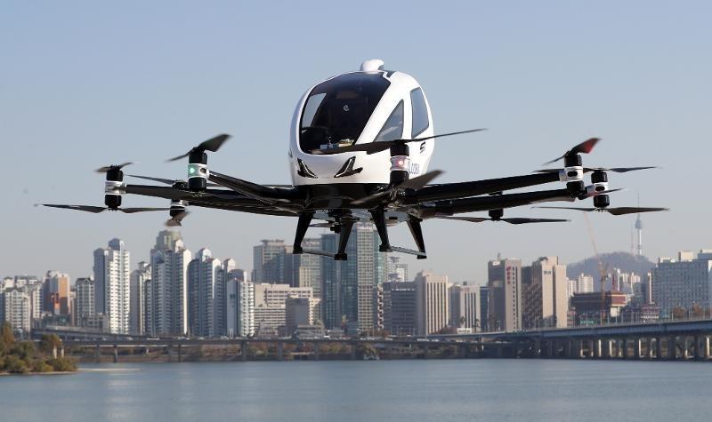 'Taxi bay' không người lái sẽ bắt đầu đi vào hoạt động vào năm 2025 - ảnh 1