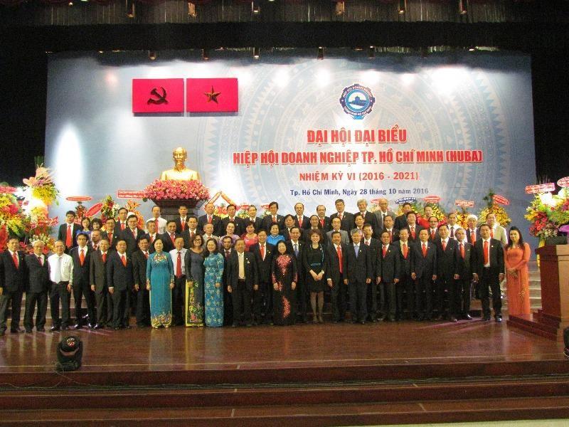Hiệp hội Doanh nghiệp TP.HCM có chủ tịch mới - ảnh 1