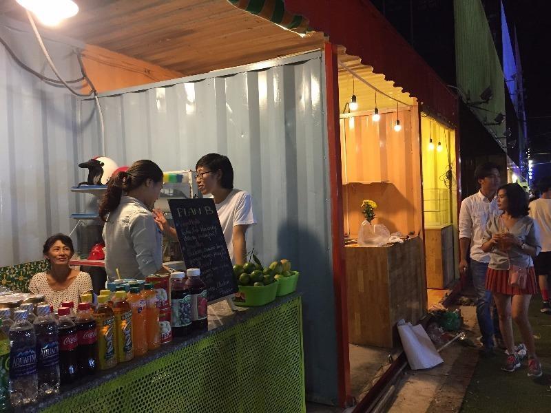 Sài Gòn có thêm khu mua sắm giải trí container - ảnh 1