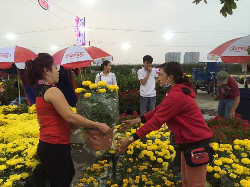 Chợ Bình Điền khai mạc Chợ hoa xuân 2018 - ảnh 4