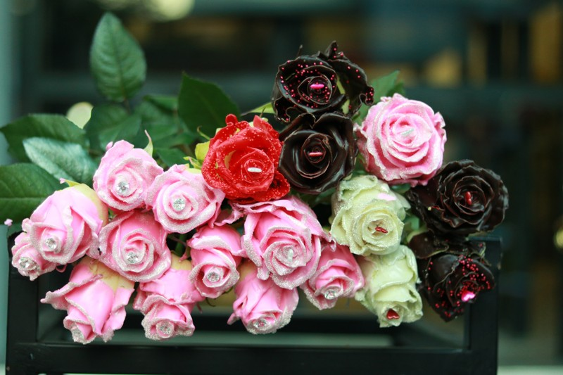 1 khách hàng chi 60 triệu mua hoa 'độc lạ' dịp 8-3 - ảnh 3