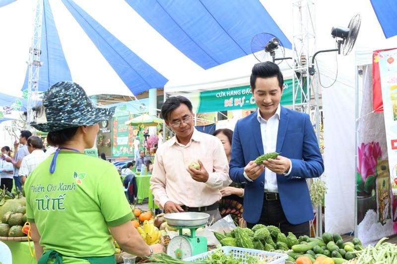 Nét đặc biệt tại hội chợ hàng Việt chất lượng cao  - ảnh 1