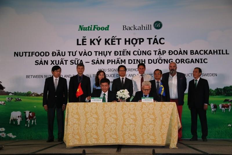 Tỷ phú Thụy Điển bắt tay NutiFood đưa sữa Việt ra thế giới - ảnh 1