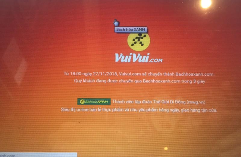 Vì sao Thế Giới Di Động 'khai tử' vuivui.com chỉ sau 2 năm - ảnh 1