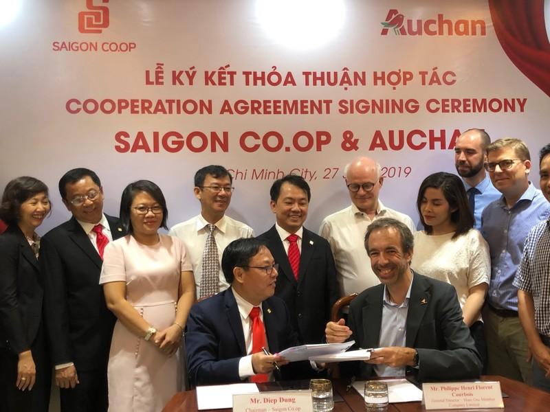 Auchan sẽ ra sao sau khi về tay Saigon Co.op ? - ảnh 1