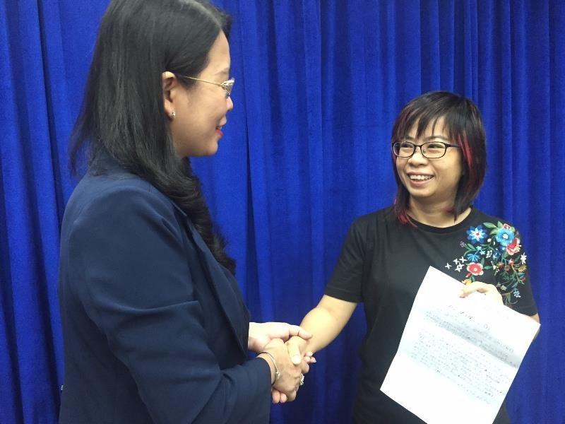 Sở Du lịch TP.HCM trao thư xin lỗi khách Nhật bị 'chặt chém' - ảnh 1
