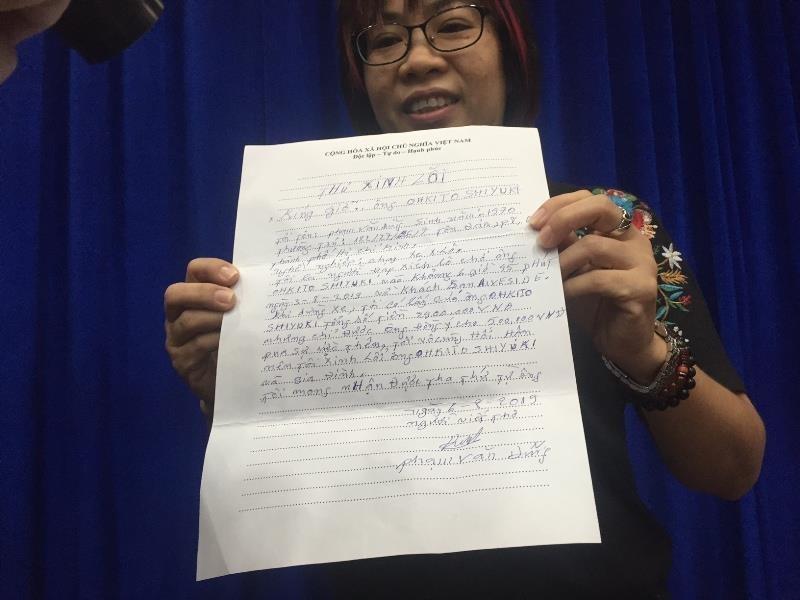 Sở Du lịch TP.HCM trao thư xin lỗi khách Nhật bị 'chặt chém' - ảnh 2