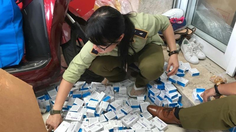 Hơn 4.700 hộp thuốc chữa bệnh tim, tiểu đường... lậu - ảnh 3
