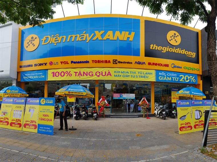 1 siêu thị Điện Máy Xanh ở Đà Nẵng tạm đóng cửa  - ảnh 1