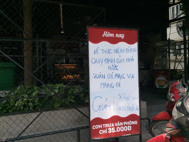 Các quán ăn, nhà hàng thực hiện nghiêm chống COVID-19 - ảnh 5