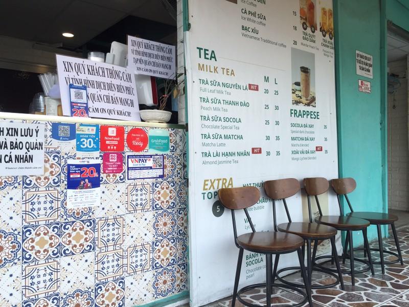 Các quán ăn, nhà hàng thực hiện nghiêm chống COVID-19 - ảnh 8