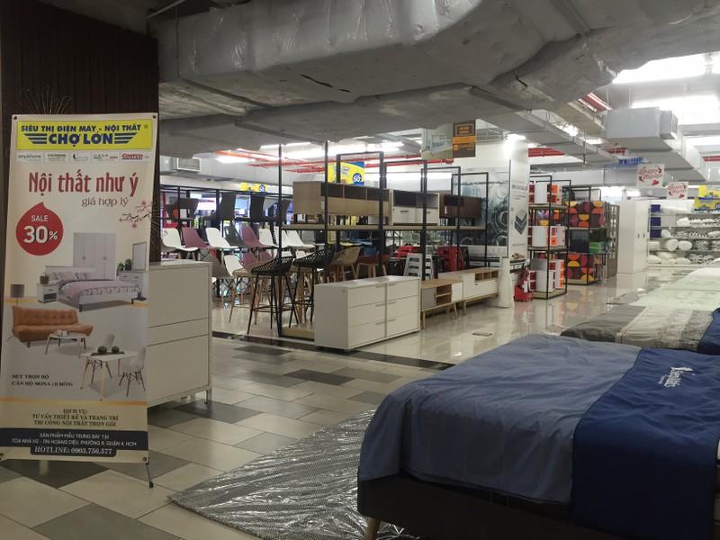 Cận cảnh trung tâm thương mại vắng khách  - ảnh 2