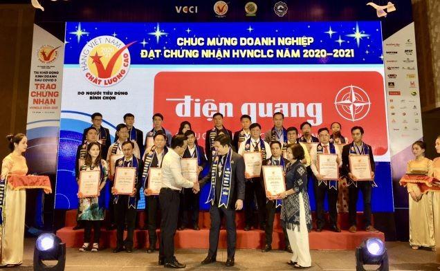 604 doanh nghiệp đạt hàng Việt Nam chất lượng cao 2020  - ảnh 1