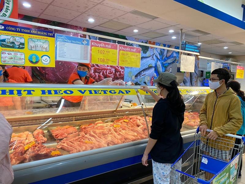 Giá thịt heo bình ổn có loại tăng 29.000 đồng/kg - ảnh 1